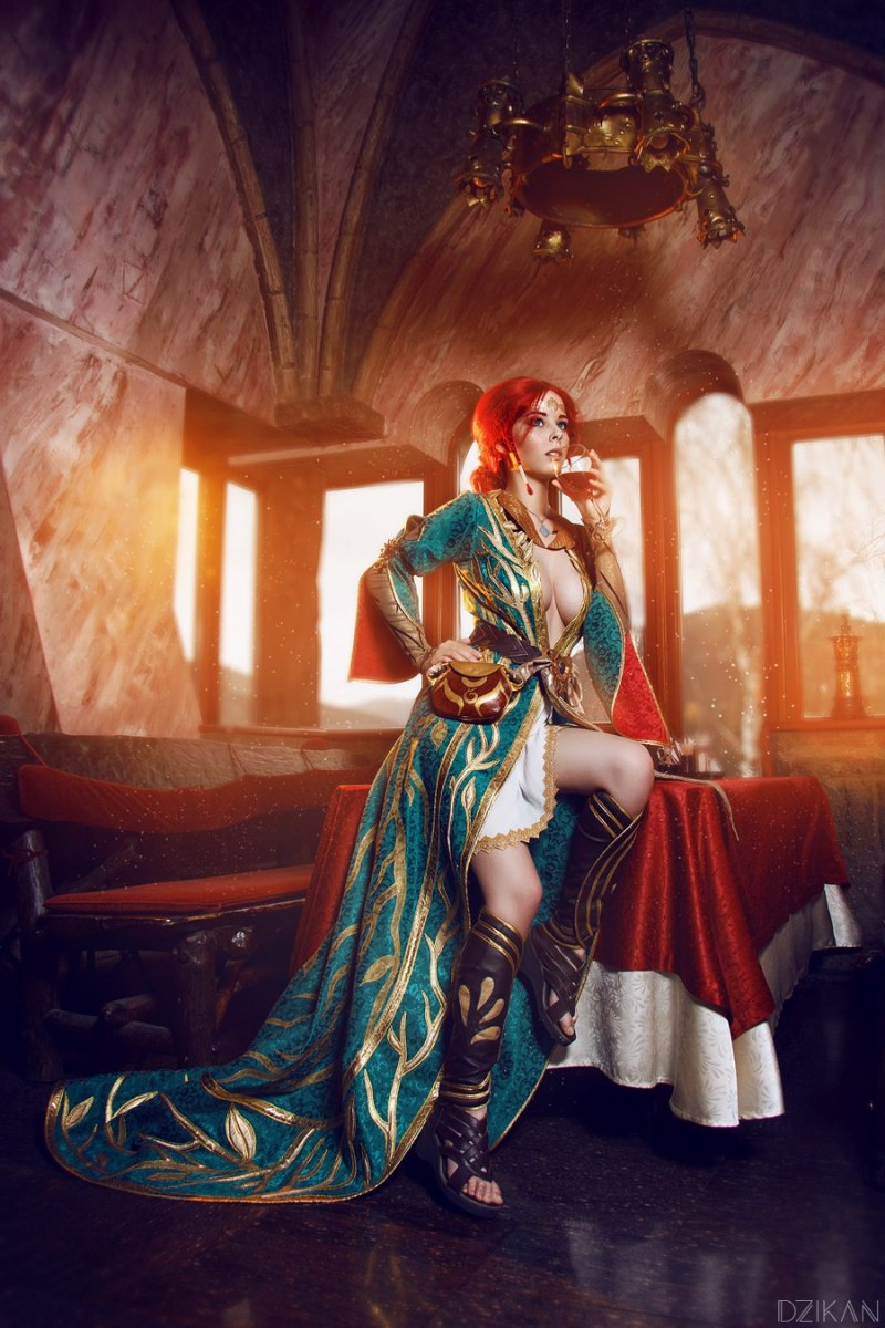Witcher 3 - Triss Alternate Cosplay by Helly Von Valentine (Disharmonica)