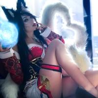 Ahri (League of Legends) Cosplay By LuciaItaliana