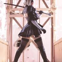 Nier: Automata, 2B Cosplay by Katta Ramos