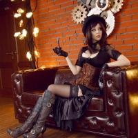 (Disharmonica) Helly Von Valentine's Steampunk costume