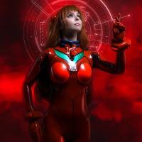 Neon Genesis Evangelion - Asuka Langley cosplay by, Disharmonica (Helly von Valentine)
