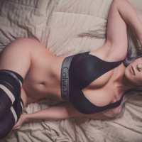 11 Photos of  Danielle Beaulieu — Calvin Klein Set Photoshoot
